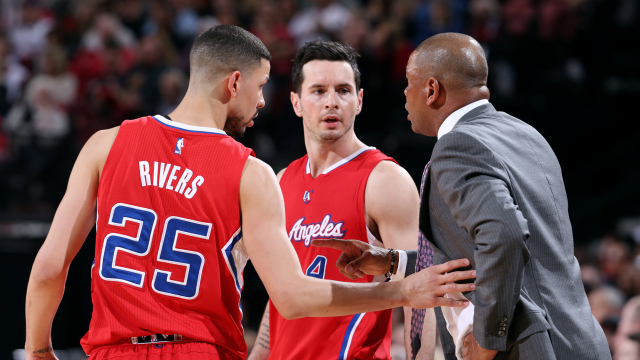 Austin Rivers on Leaders